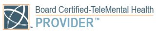 Board Certified TeleMental Health Provider Badge