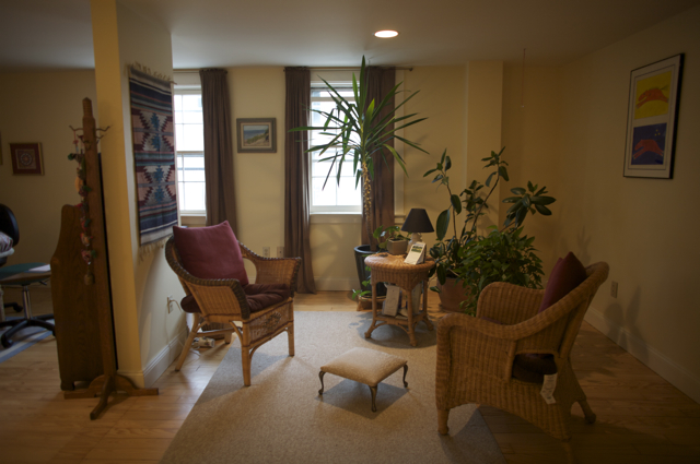 A photo of the Vergennes Wellness Center office space circa 2003 for Handcrafted Health's scope of practice page.