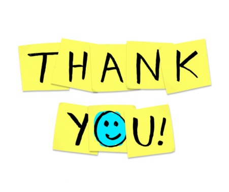 Handcrafted Health says thank you to everyone who offered testimonials.